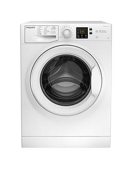 Hotpoint NSWM863CW 8kg 1600rpm Freestanding Washing Machine - White