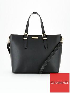 carvela-hex-tote-bag-black