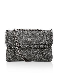 kurt-geiger-london-tweed-large-kensington-shoulder-bag-grey