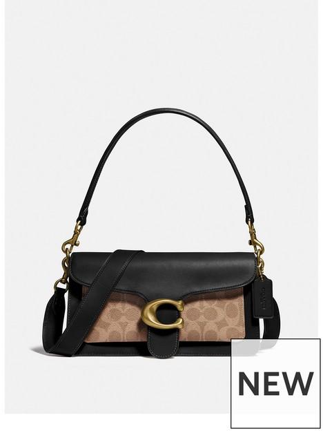 coach-tabby-26-coated-canvas-signature-cross-body-bag-black
