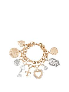 bibi-metalic-tone-charm-bracelet