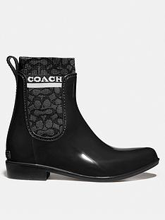 coach-rivington-signature-knit-patent-rain-boots-black