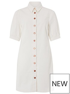 monsoon-eliza-recycled-cotton-denim-dress-ivory