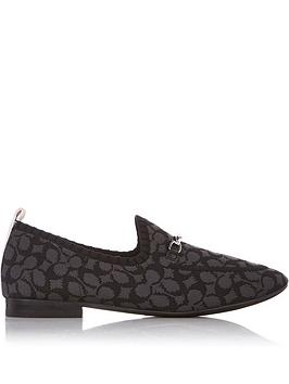 coach-harling-signature-knitted-loafers-black