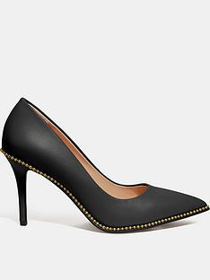 coach-waverly-leather-beadchain-court-shoes-black