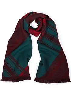 vivienne-westwood-tartan-and-orb-scarf-green
