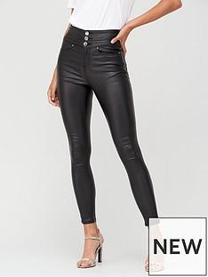 v-by-very-macy-high-waisted-coated-skinny-jean-black-coated