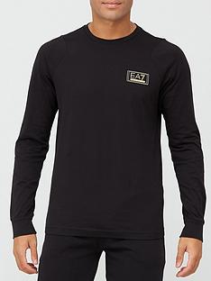 ea7-emporio-armani-lux-gold-label-long-sleeve-t-shirt-black-gold