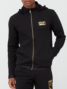 ea7-emporio-armani-nbsplux-gold-label-zip-through-hoodie-blacknbsp