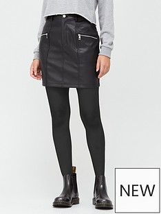 v-by-very-faux-leather-zipnbspmini-skirt-black