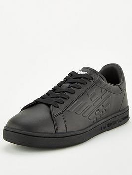 ea7-emporio-armani-classic-court-leather-trainers-black