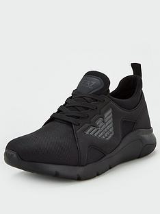 ea7-emporio-armani-a-racer-runner-trainers-black