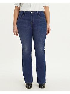 levis-plus-315nbspshaping-boot-jeans-dark-indigo