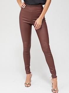 v-by-very-coated-jeggings-oxblood