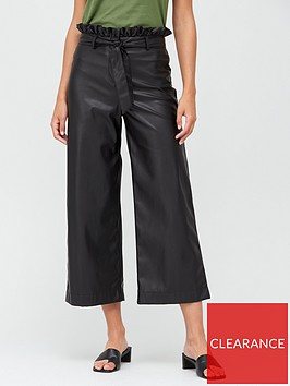 v-by-very-faux-leather-belted-wide-leg-crop-trousers-black