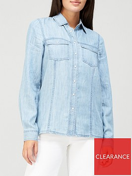 v-by-very-valuenbsprelaxed-denim-shirt-mid-wash