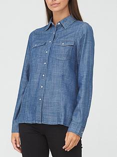 v-by-very-relaxed-denim-shirt-dark-wash