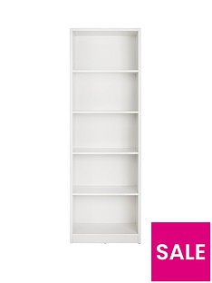home-essentials--nbspmetro-tall-wide-extra-deep-bookcase-white