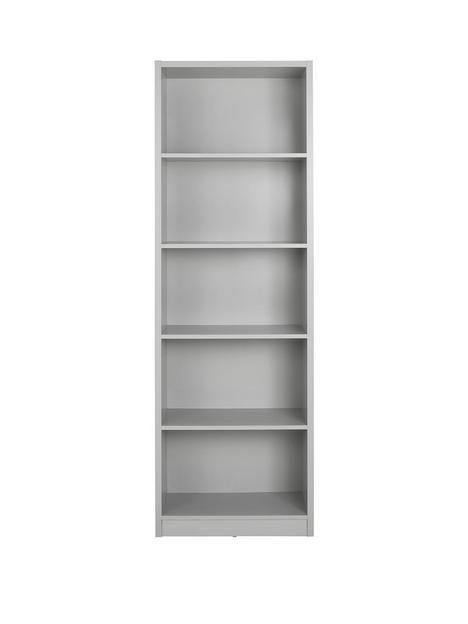 home-essentials--nbspmetro-tall-wide-extra-deep-bookcase-grey