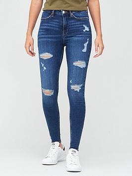 v-by-very-ella-high-waist-vari-ripped-skinny-jean-dark-wash