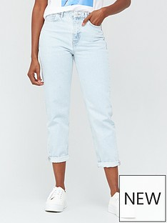 v-by-very-high-waist-mom-jean-bleach-wash