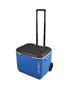 coleman-performance-wheeled-60qt-cooler-blue