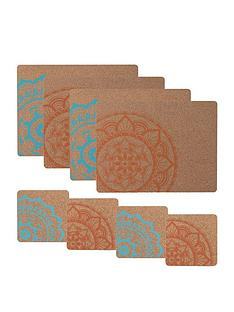 typhoon-world-foods-8-piece-cork-coaster-and-placemat-set