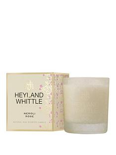 heyland-whittle-gold-classic-candle-neroli-rose