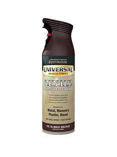 rust-oleum-universal-metallic-all-surface-spray-paint-ndash-oil-rubbed-bronze-400-ml