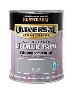 rust-oleum-metallic-silvernbspuniversal-metal-and-all-surface-paint--nbsp250ml
