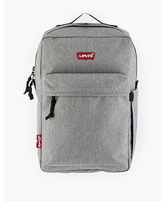 levis-front-pocket-detail-backpack-grey