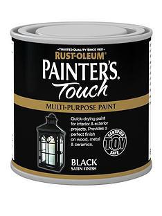 rust-oleum-painterrsquos-touch-toy-safe-satin-finish-multi-purpose-paint-ndash-black-250-ml