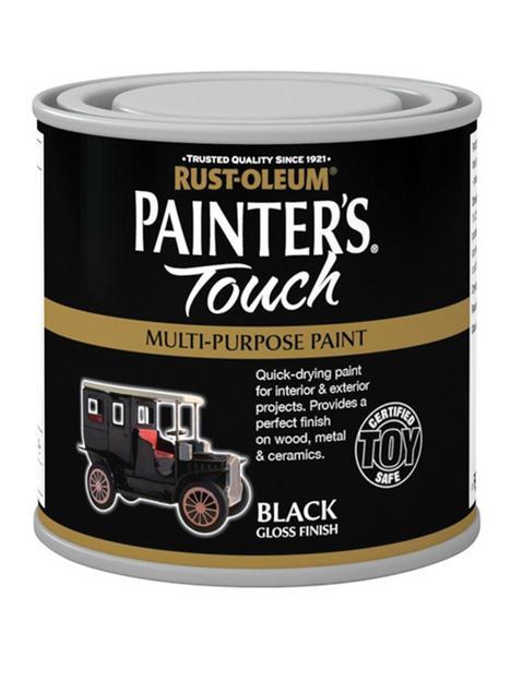rust-oleum-painterrsquos-touch-toy-safe-gloss-finish-multi-purpose-paint-ndash-black-250ml