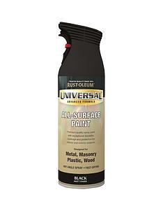 rust-oleum-matt-blacknbspuniversal-metal-and-all-surface-paint--nbsp400ml