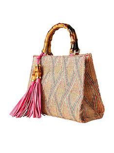 joe-browns-beach-hut-tassel-bag-pink
