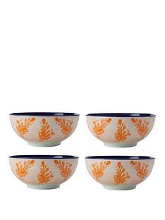 maxwell-williams-majolica-bowls-set-of-4