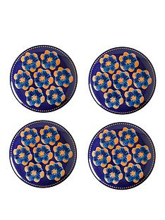 maxwell-williams-majolica-side-plates-set-of-4