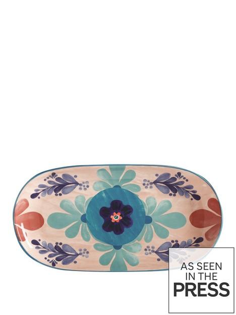 maxwell-williams-majolica-medium-peach-oblong-platter