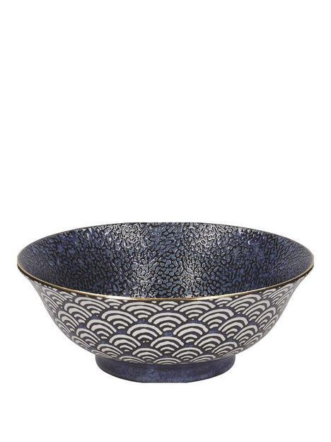 kitchencraft-mikasa-satori-living-gold-large-serving-bowl