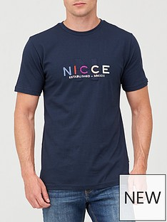 nicce-monta-t-shirt-navy
