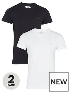 farah-2nbsppack-t-shirt-whiteblack