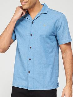 farah-chambray-short-sleeve-shirt-stone-washnbsp