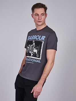 barbour-international-frame-t-shirt-grey