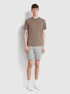 farah-stripe-ringer-t-shirt-green