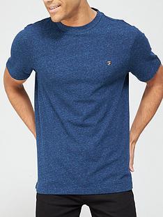 farah-melange-crew-neck-t-shirt-bluenbsp