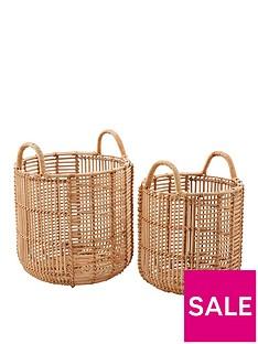 set-of-2-straight-weave-rattan-baskets
