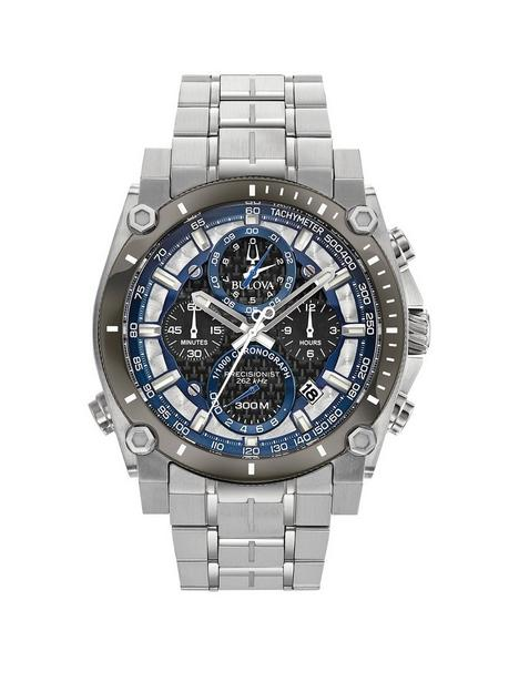 bulova-bulova-precisionist-silver-and-blue-detail-chronograph-dial-stainless-steel-bracelet-mens-watch