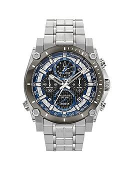 bulova-bulova-precisionist-silver-and-blue-detail-chronograph-dial-stainless-steel-bracelet-mens-watch