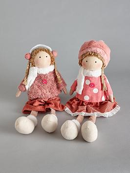 set-of-2-pcs-fabric-girl-ornament