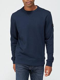 boss-walkup-1-arm-logo-sweatshirt-dark-bluenbsp